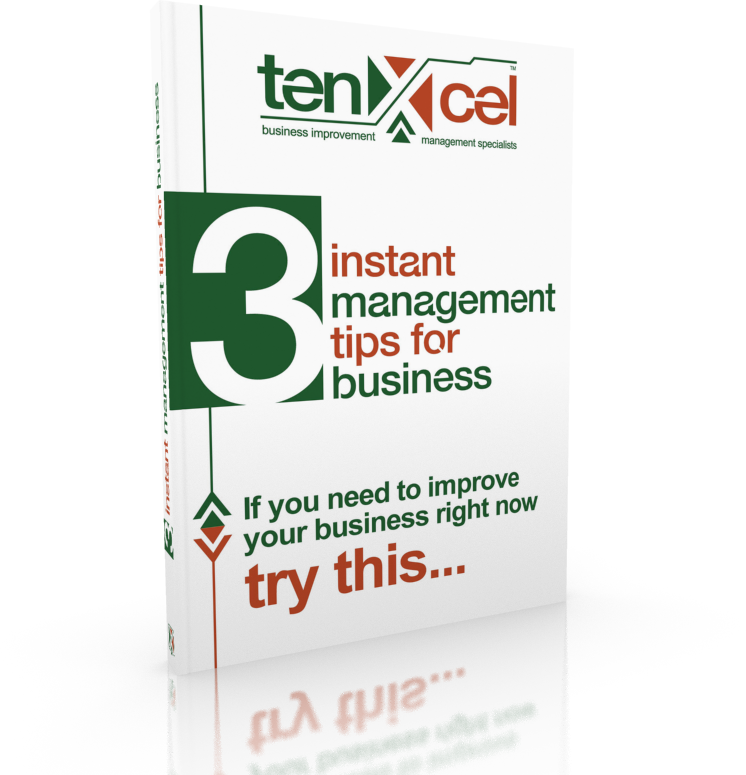 Tenxcel 3 Instant management Tips for Business Guidebook