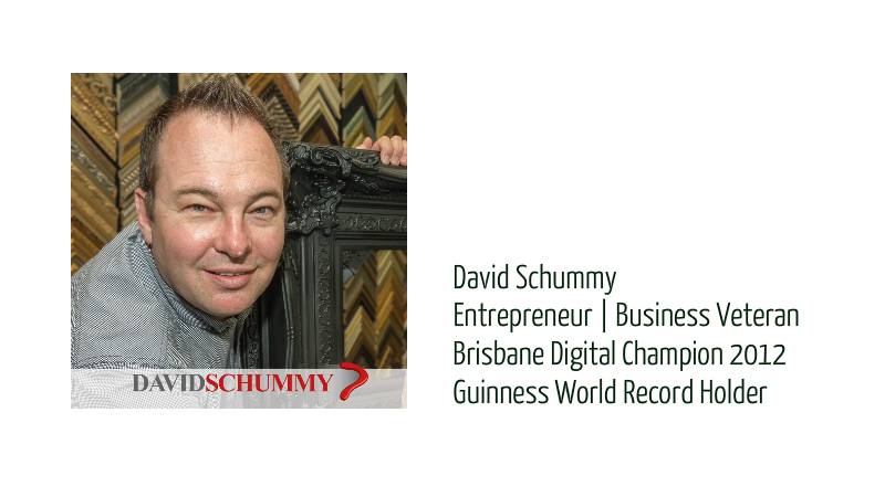 David Schummy, Business consultant and creator of tenxcel business toolkit